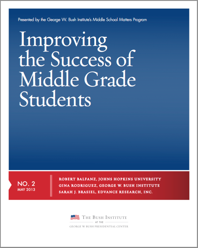 Improving the Success of Middle Grade Students - MIDDLE ...
