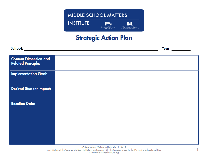 Action plan templates pdf and fixable forms from middle for Call center action plan template